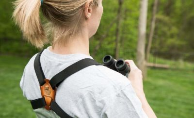 The Binocular Harness Strap – Getting Set For The Following Shot