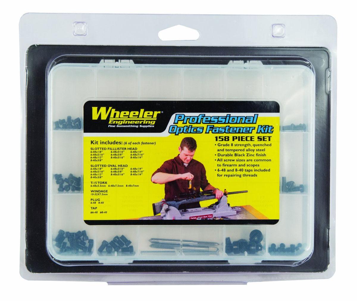 Wheeler Engineering Professional Optics Fastener Kit