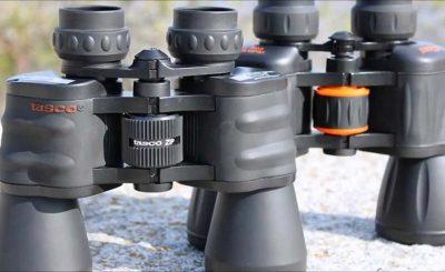 Tasco Essentials 10×50 WA, Zip Focus Binocular