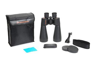 Celestron SkyMaster Giant 15×70 Binoculars Package